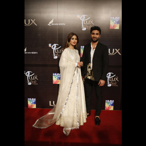 Sajal Aly and Ahad Raza Mir