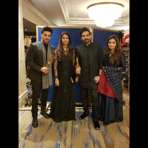 Ahsan Khan, Samina Humayun, Humayun Saeed and Sana Shanawaz