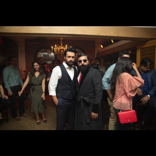 Atif Aslam and Ali Xeeshan
