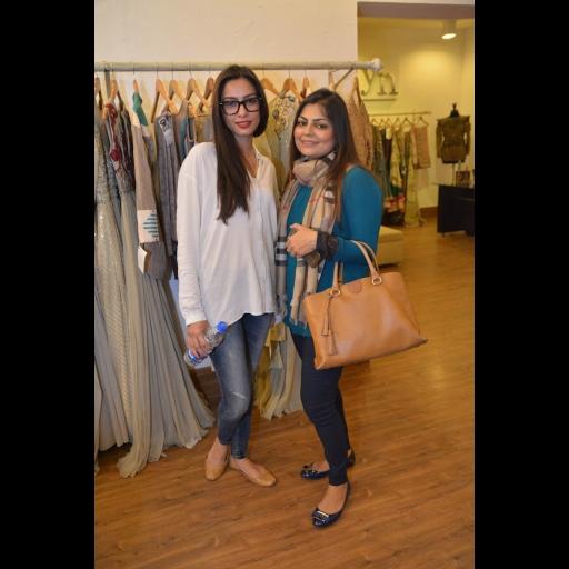 Nooray Bhatti and Zainab Chottani