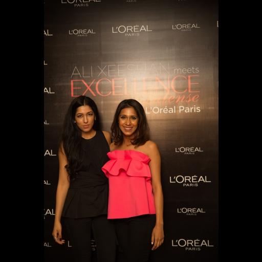 Aysha Chaudhry and Momina Sibtain