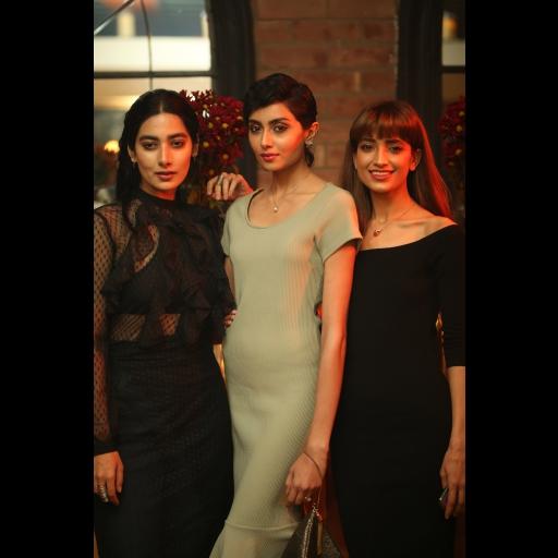 Eman Suleman, Farwa Kazmi and Rubab Ali