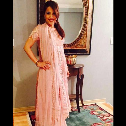 Raana Khan looks super pretty in Sanam Chaudhri on Eid