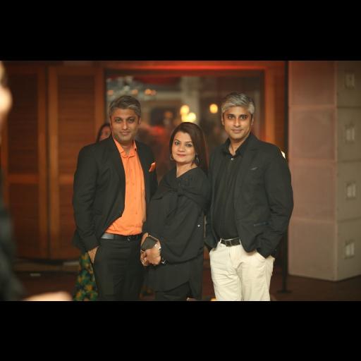 Fahad Lakhani, Mona Imran and AB Lakhani