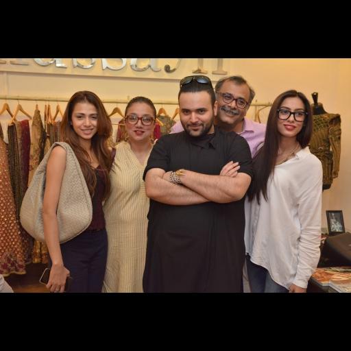 Tooba, Hadia, Mohsin Sayeed, Noor Bhatti with Fahad Hussayn