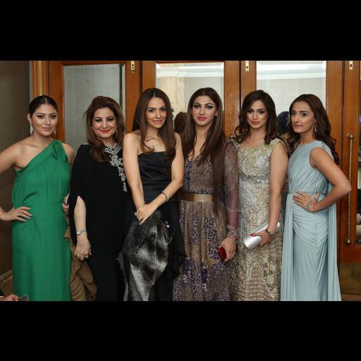 Anam Tanveer, Mrs. Behroz Sabzwari, Neha, Sana Fakhar, Noor Bukhari, Momal Sheikh
