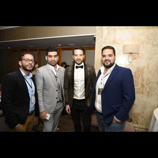 Mikaal Zulfiqar and People from HumTv