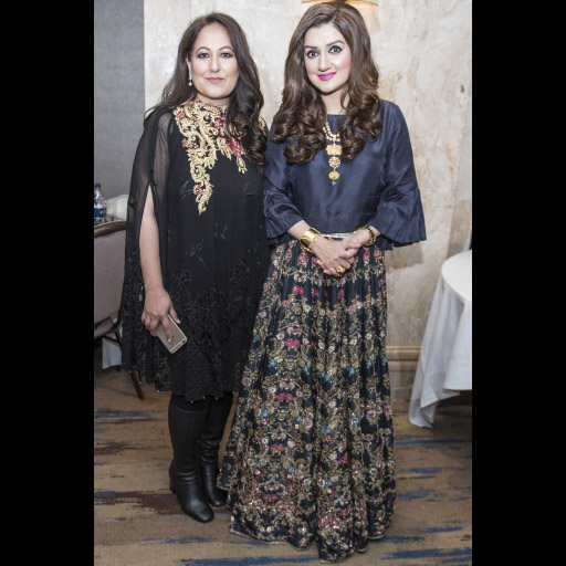 Ayesha Sana and Guest