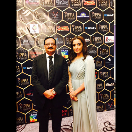 Director golden pearl and Momal Sheikh
