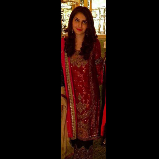 Yusra Faisal keeps the tradition alive in a festive Sanam Chaudhri formal