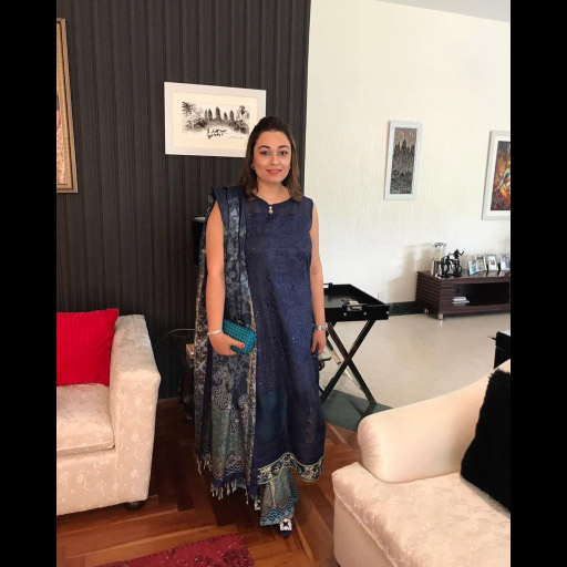 Saadia Asad Seen Spotted Wearing Noor Festive on Eid day 2