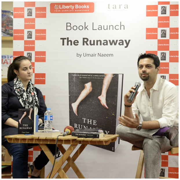 'The Runaway' by Umair Naeem launches at Liberty Books in Pakistan