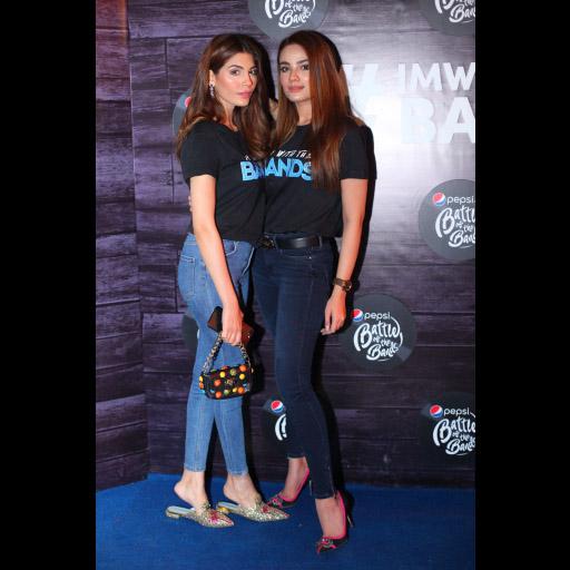 Amna Babar and Alyzeh Gabol
