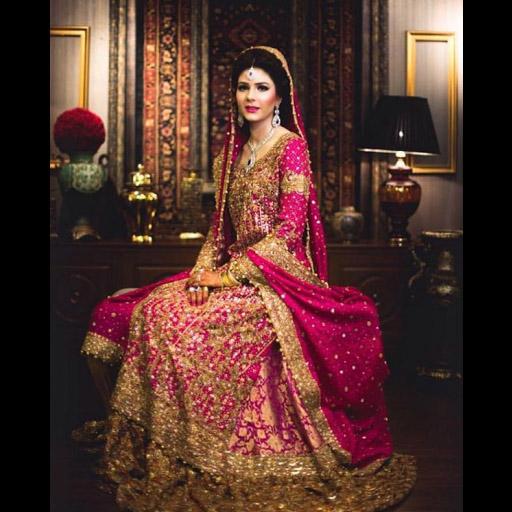 Bride in Farah Talib Aziz