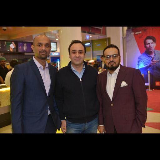 Asfand Yar, Wajahat Rauf and Jerjees Seja