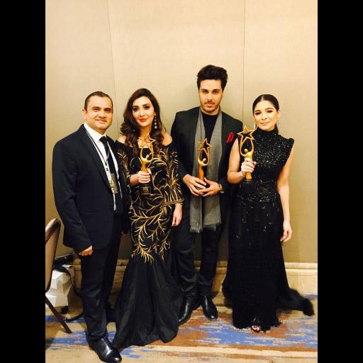 Mr. Mukhtar, Aisha Khan, Ahsan Khan and Ayesha Omar