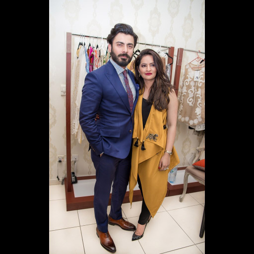 Fawad and Sadaf Fawad