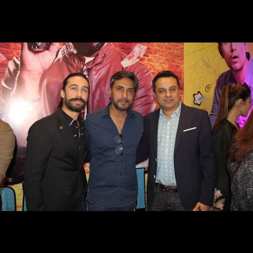 Ali Rehman Khan Adnan Siddiqui with a friend