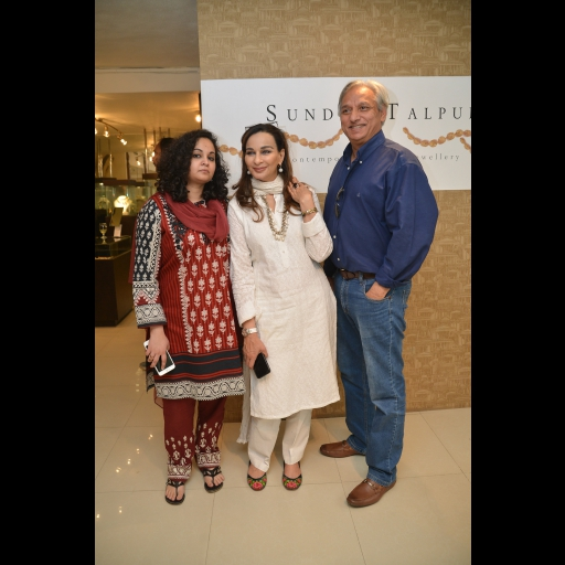 Marvi, Sherry Rehman and Nadeem Hussain