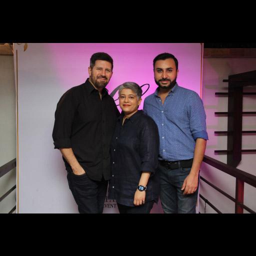 Tapu Javeri, Laiqa Hasan and Nubain Ali