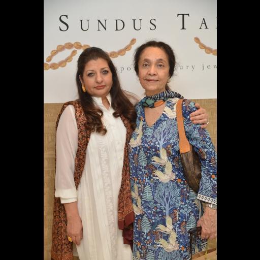 Saba Talpur and Samia