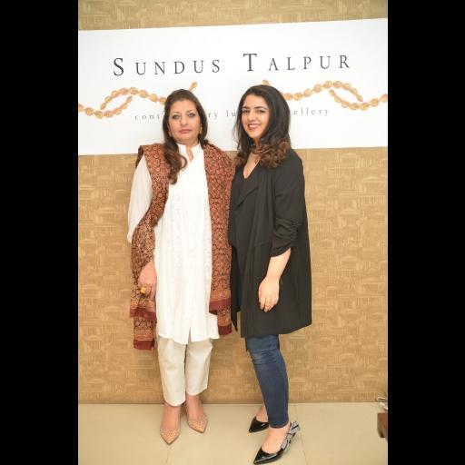 Saba Talpur and Sundus Talpur