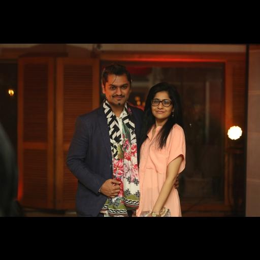 Mr and Mrs Raza Munir