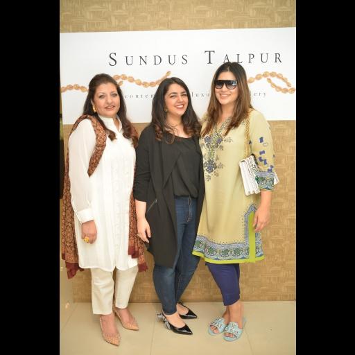 Saba Talpur, Sundus Talpur and Sundus Tahir