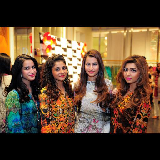 Faryal, Iqra, Sahar, Mariam