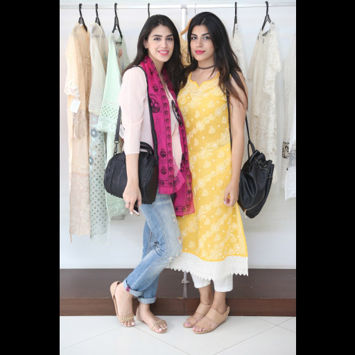 Anusheh Shahid and Meha Shahid
