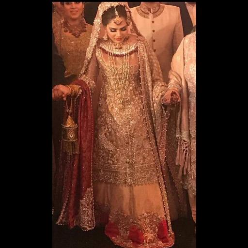 Bride in Saira Shakira