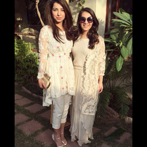 Fabulous girls spotted in Ayesha Somaya