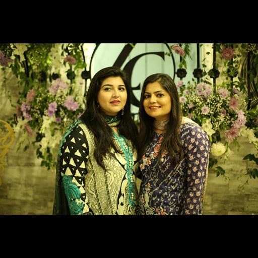 Zainab with friend