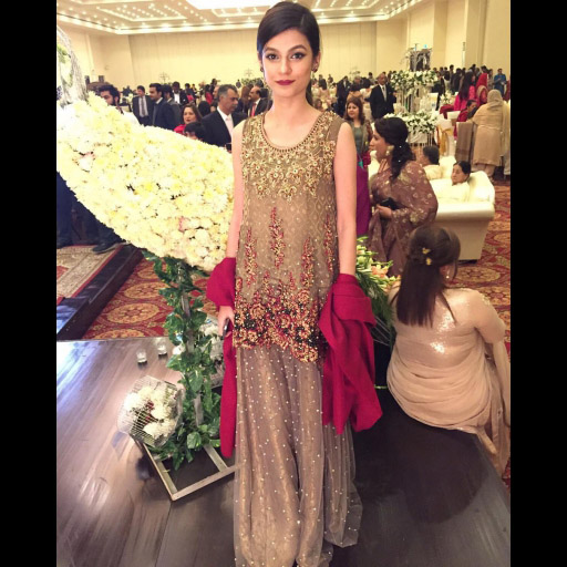 Zara Gul in a Saira Rizwan Formal