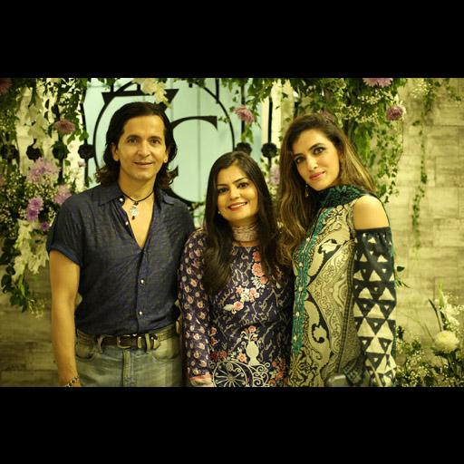 Zurain and Zainab with a friend