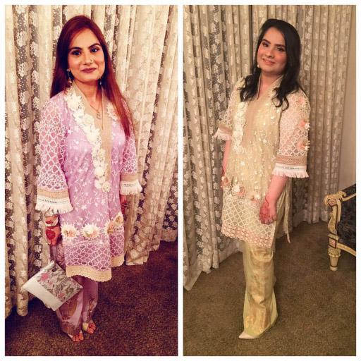 Ladies in  Wardha Saleem looking like a million bucks this Eid