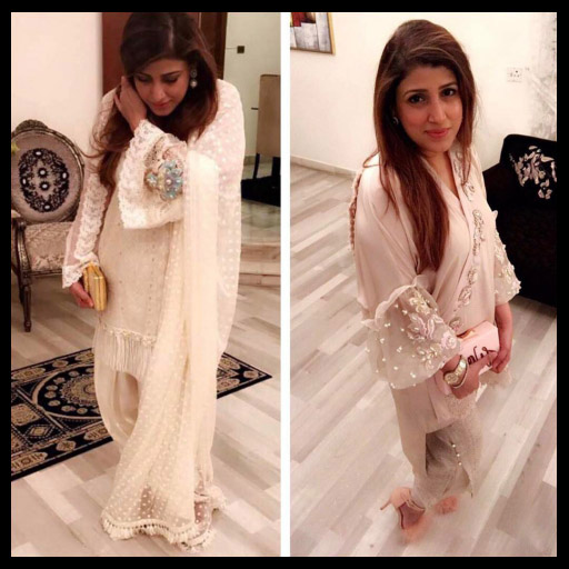 Spotted these super pretty Afsheen Mehboob outfits this Eid