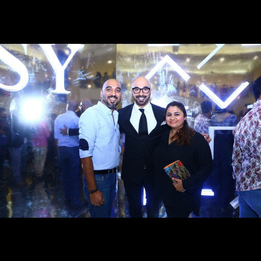 Aamir Lakhani, HSY and Muneera Lakhani