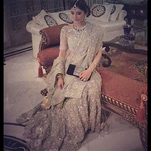 Meezan Fahad in an enchanting Elan Bridal