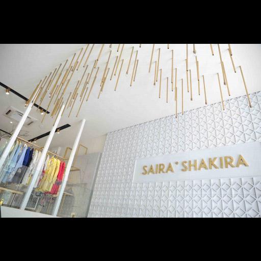 Saira Shakira Flagship Store in Lahore