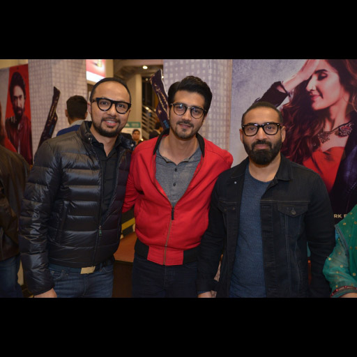 Nomi Ansari, Shahzad Shaikh and Nadeem Baig