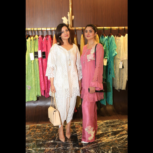 Uzma Ramzan and Nadia Faisal