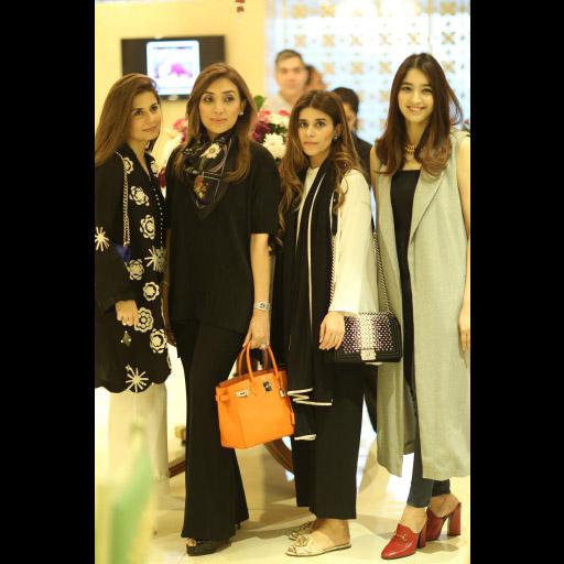 Amber Gohar, Rabia Saqib, Mishal Asad, Mehreen Amin Khan