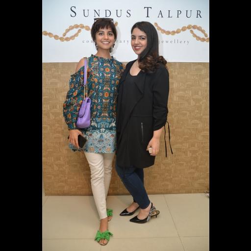 Amal Sarwar and Sundus Talpur