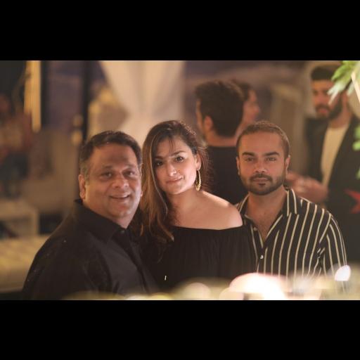Umer Sayeed, Shazia Deen and Faraz Manan