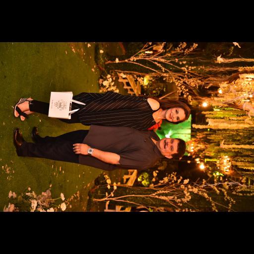 Zehra Javeri and Dr Tariq Bokhari