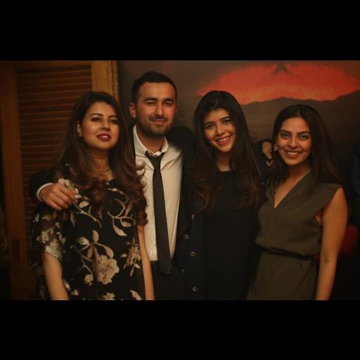 Nazia, Shahzain, Arsha and Zahra