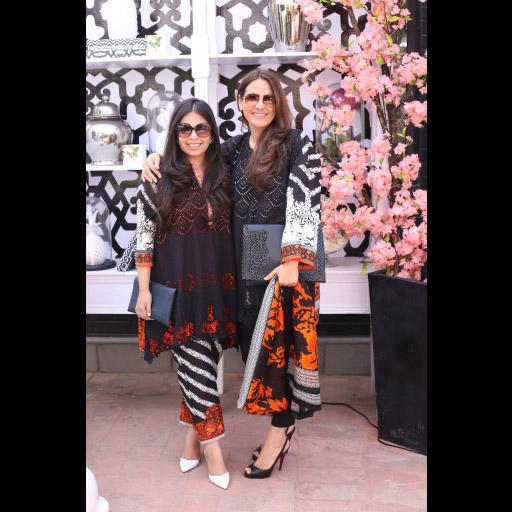Anusha Bawany and Safinaz Muneer