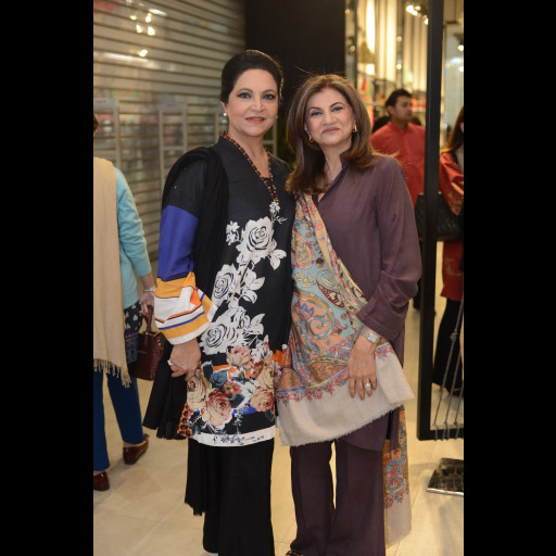 Tahira Syed and Meena Gul