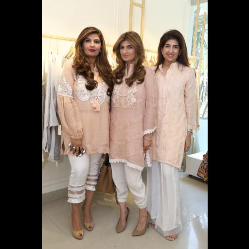 Marium Ellahi Atif, Ayesha Sohail, Amina Rehman